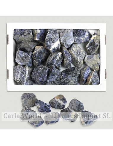 Sodalite box in the rough. 2Kg approximately
