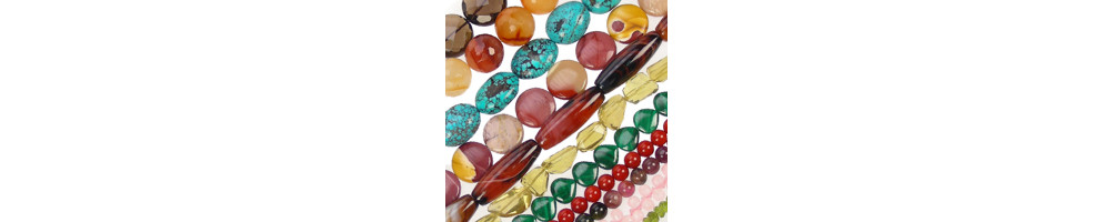 Semiprecious Mineral Strings
