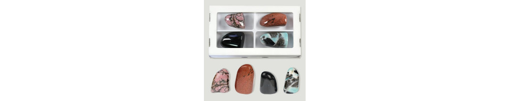 Polished Mineral Boxes
