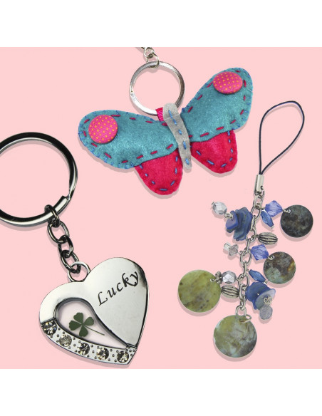 Keychains and Mobil Accessories